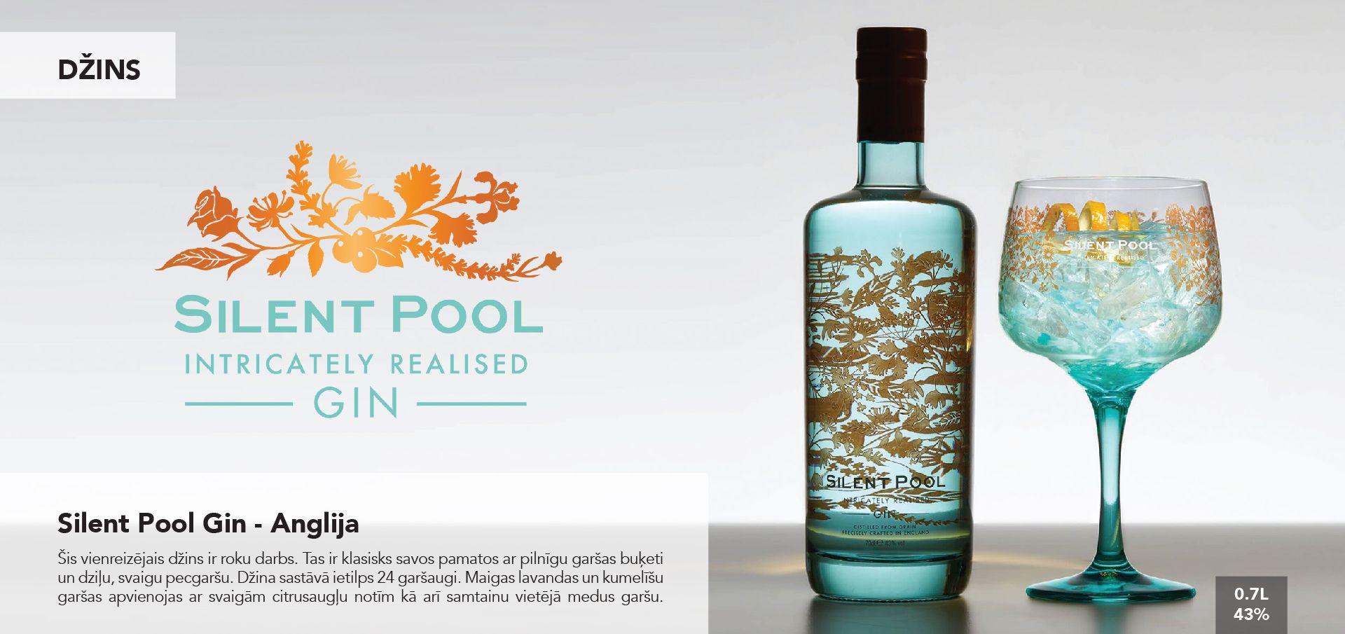 Silent Pool Gin - Anglija