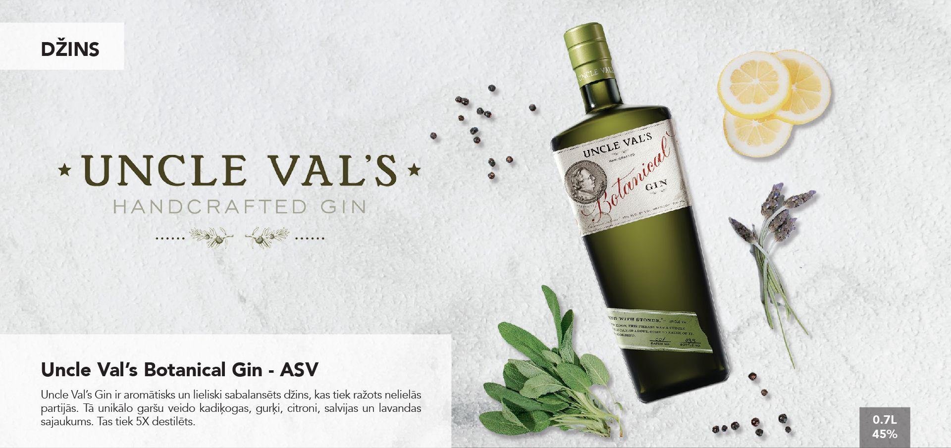 Uncle Val's Botanical Gin - ASV