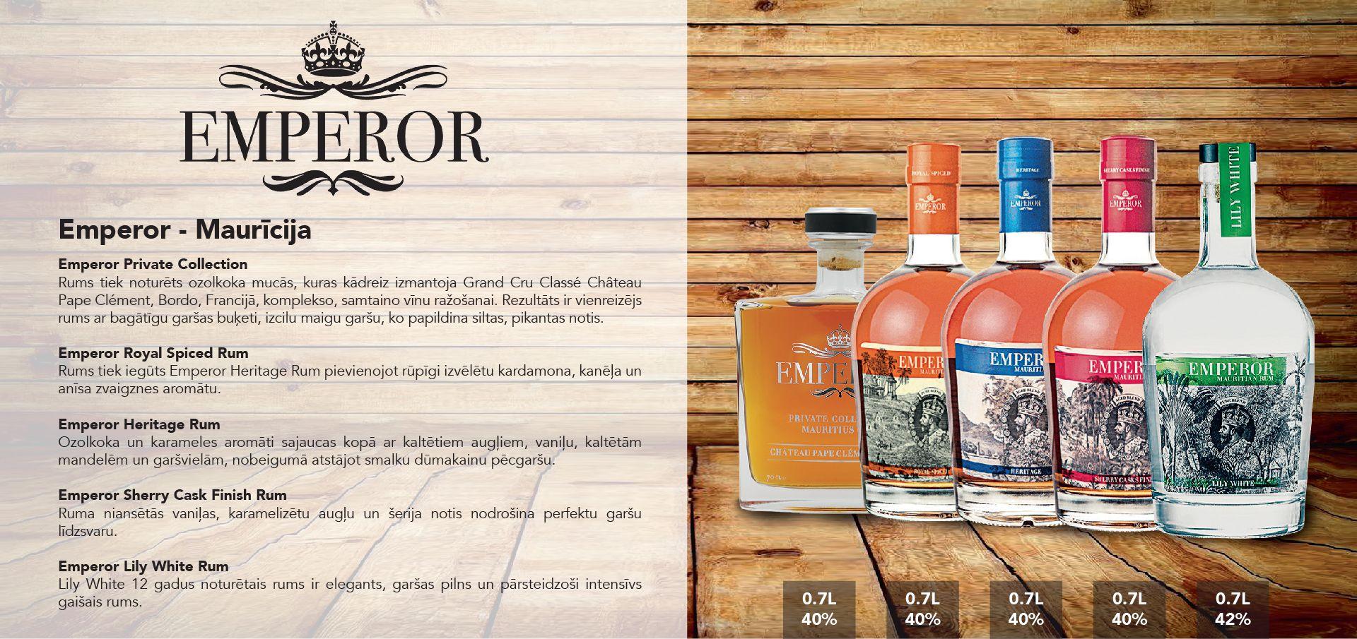 Emperor Rum - Maurīcija