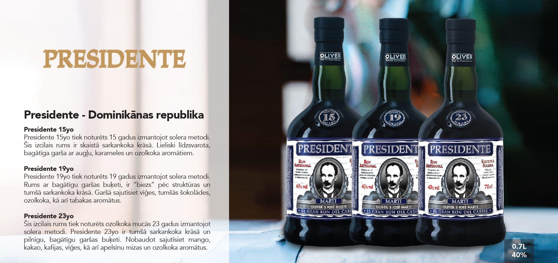 Presidente Rum - Dominikānas republika