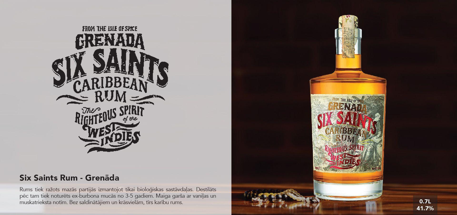 Six Saints Rum - Grenāda