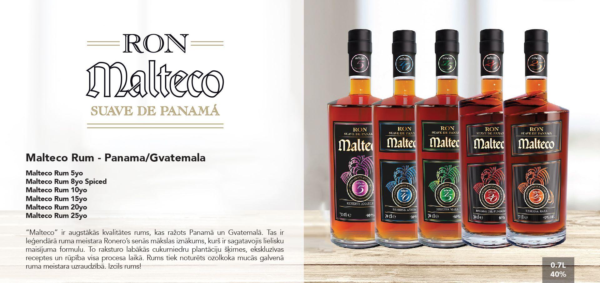 Malteco Rum - Panama/Gvatemala