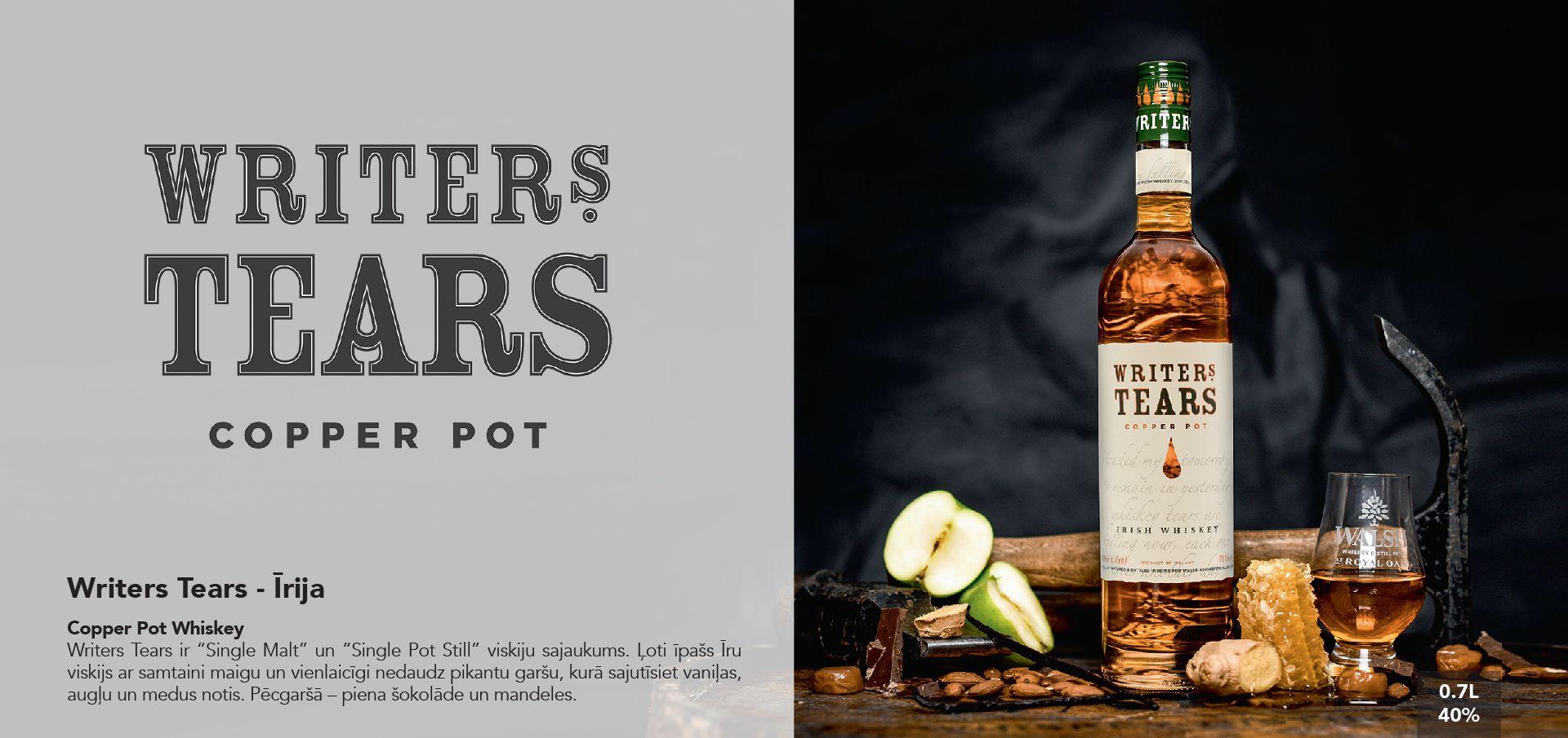 Writers Tears Whiskey - Īrija