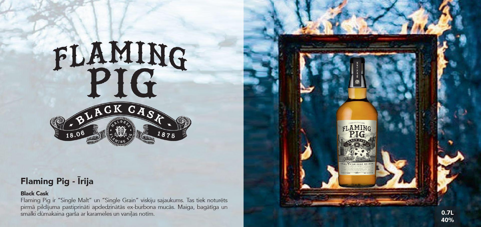 Flaming Pig Whiskey - Īrija