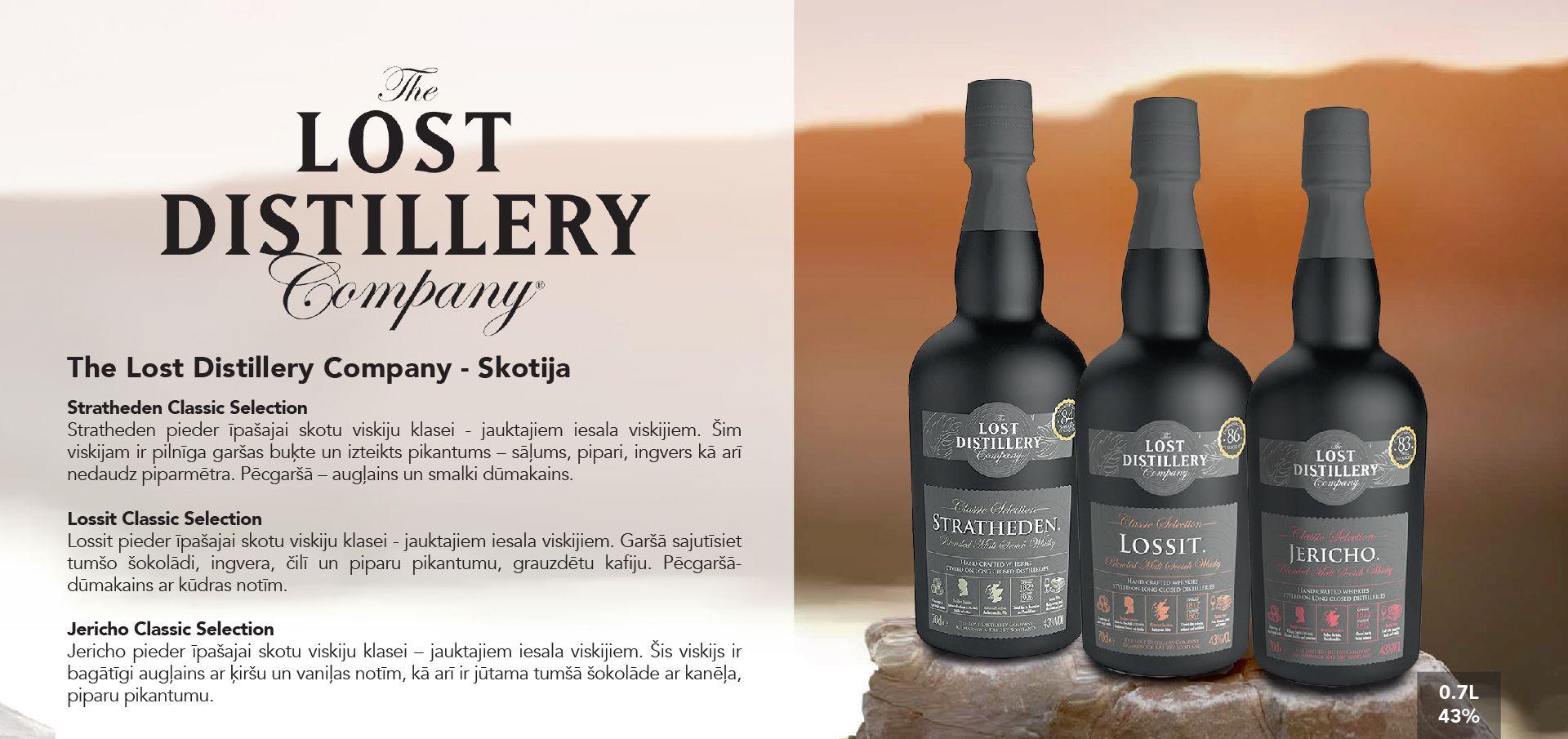 The Lost Distillery Company Whiskey - Skotija