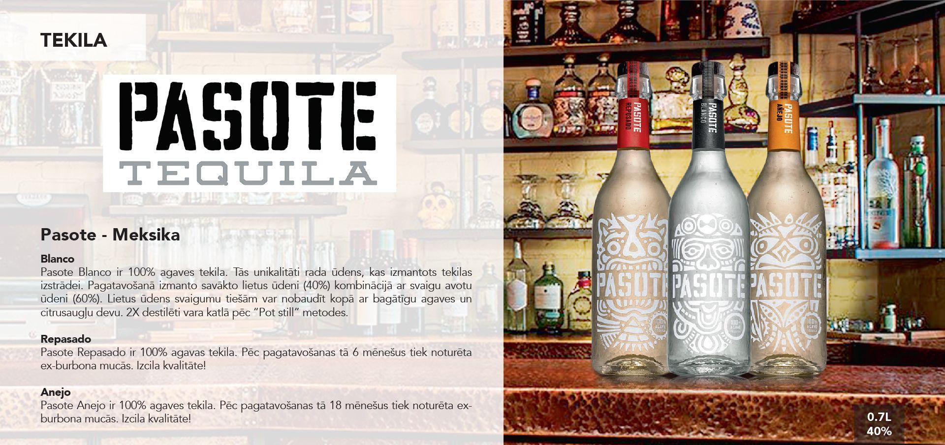 Pasote Tequila - Meksika